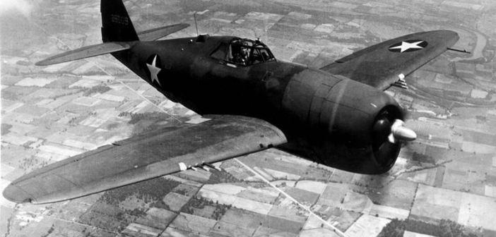 Republic P-47D Thunderbolt.