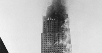 Empire State Building 1945 after Crash