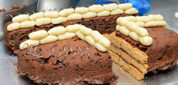 WWI Trench Cake