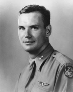 Major Williston M. Cox, Jr. was the only member of his crew to survive as a POW. (Credits: International Historical Research Associates)