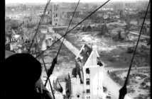 Aerial footage Ieper (Ypres) in 1919