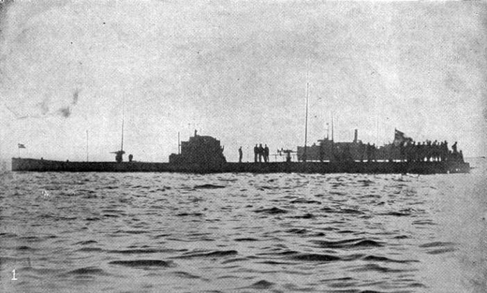 German submarine SM U-53 - Naval Aviation