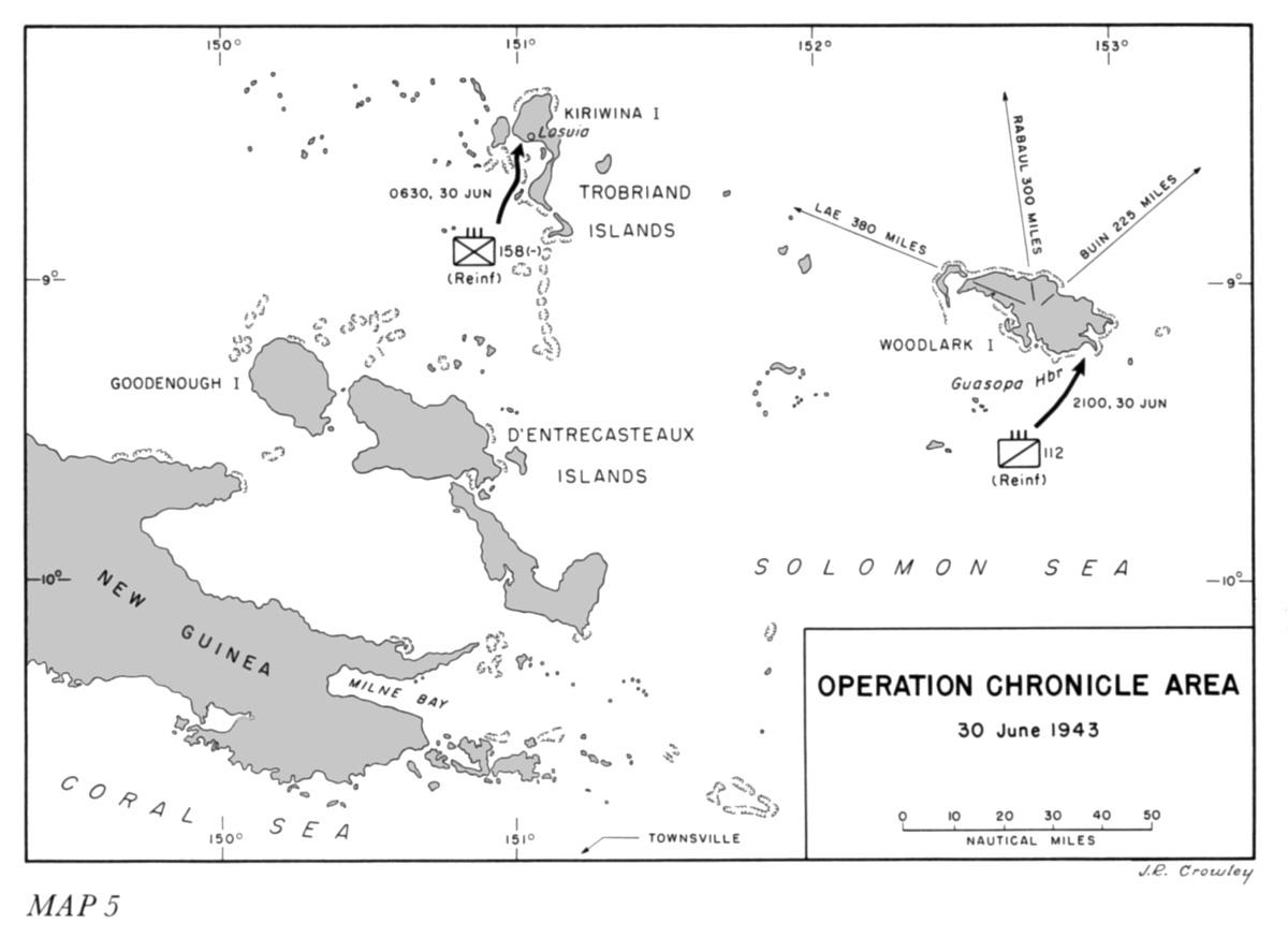Operation Chronicle Woodlark Island