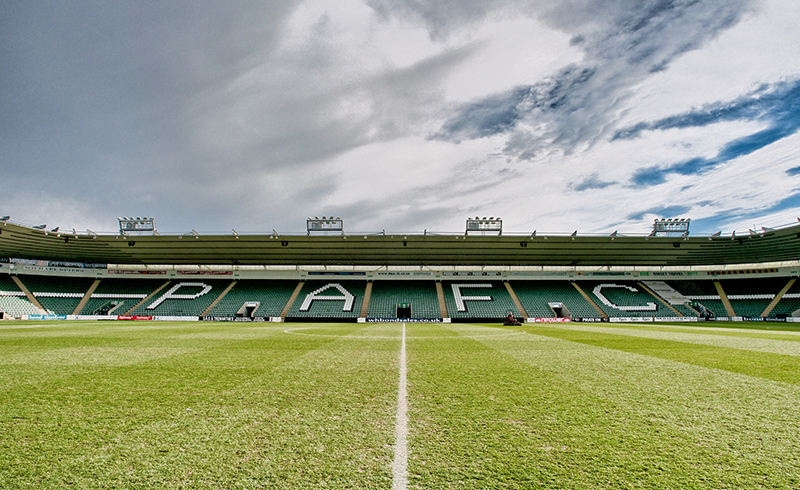 Home Park Grandstand to open against Morecambe