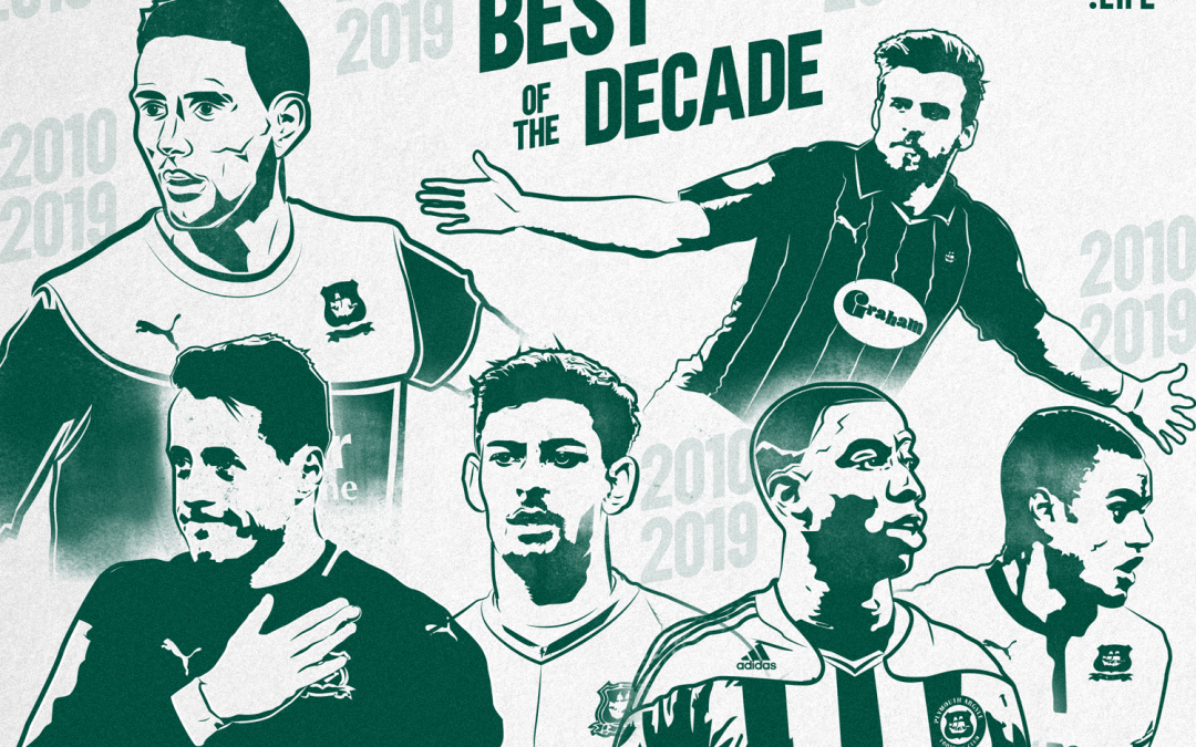 Plymouth Argyle Top 50 – 2010-2019: 15th to 11th