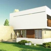 Proiect casa moderna / proiect casa 21