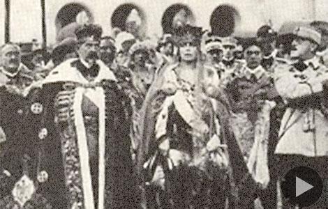 Imagini pentru incoronarea de la alba iulia 1922 photos