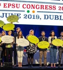 Եվրոպայի հանրային ծառայությունների արհմիության (EPSU) 10-րդ համագումարը