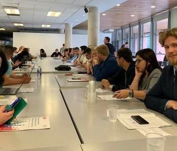 Եվրոպայի հանրային ծառայությունների արհմիության (European Public Service Union/EPSU) երիտասարդական ցանցի ամենամյա նիստին