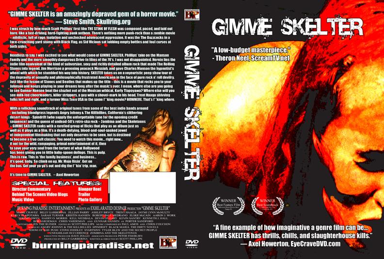 Gimme Skelter DVD Sleeve