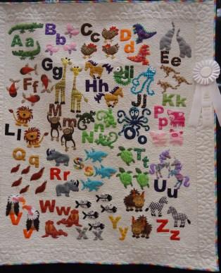 Pippa's ABC Quilt by Katie Huxford