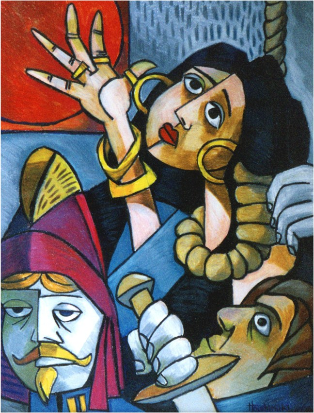 Esmeralda Being Hung