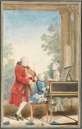 The Mozarts on Tour