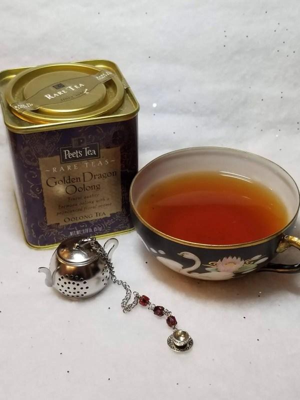 Beaded Teapot Tea Infuser