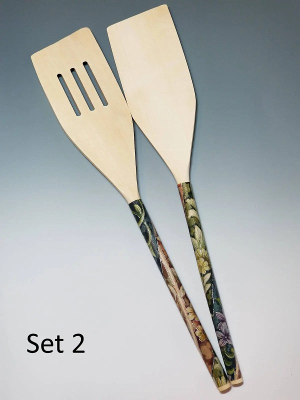 Decoupaged Wooden Spoons
