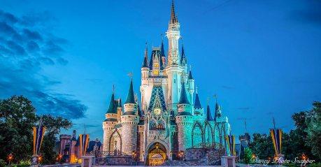 Disney um local mágico.