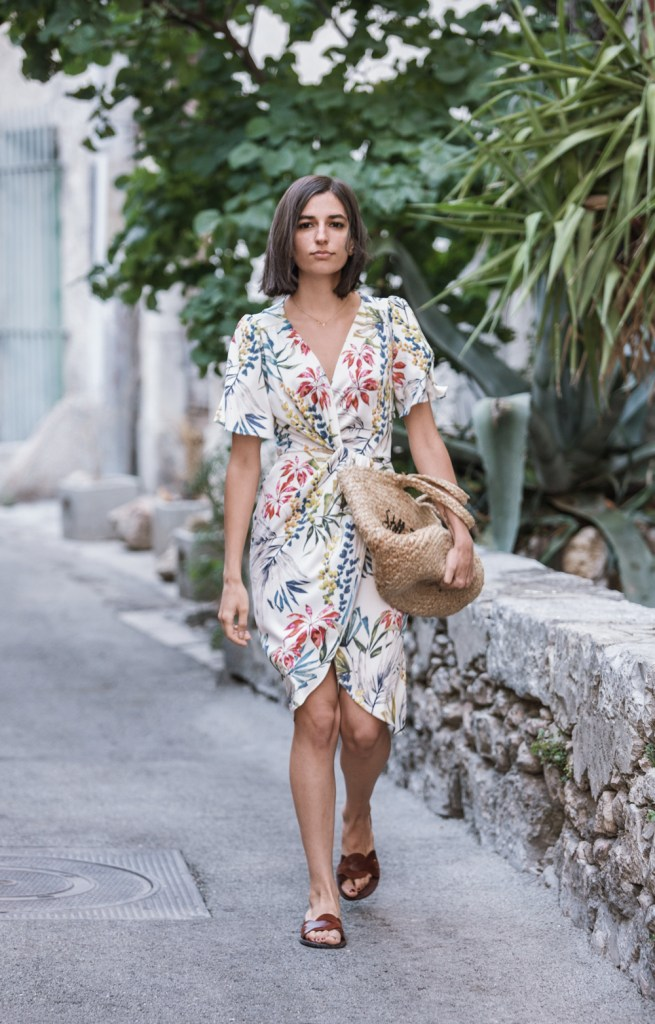 how to dress down a fancy summer dress