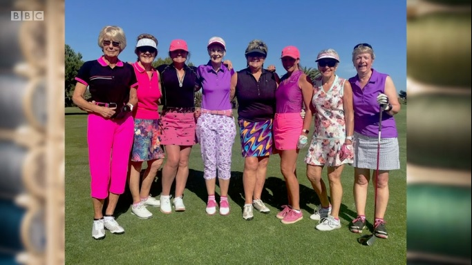 Ali bad golfing outfits