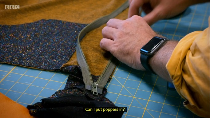 poppers sewing