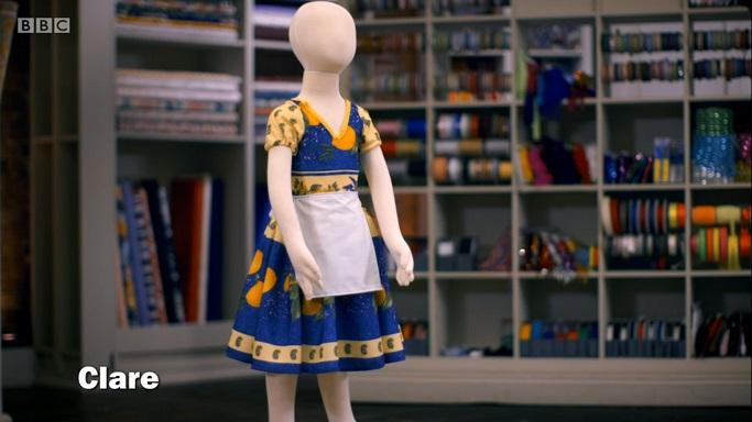 clare peasant girl costume