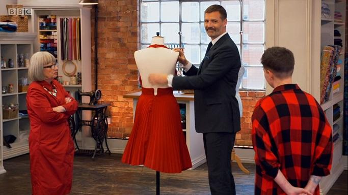 liz zip dress
