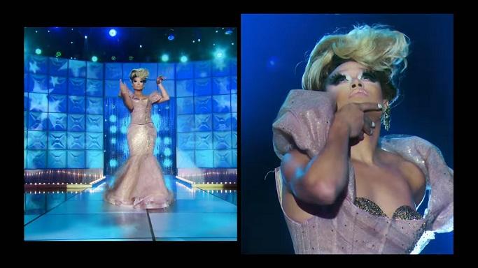 Mariah nude runway