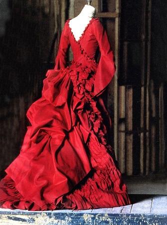 red dress dracula
