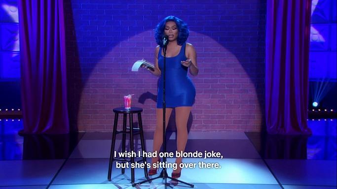 1 blond joke