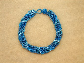 Oceanic Loops Necklace