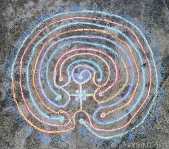 Chalk Labyrinth