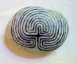 Labyrinth Gift Stone