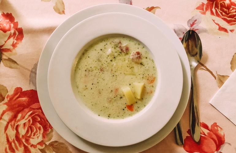 old viennese potato soup