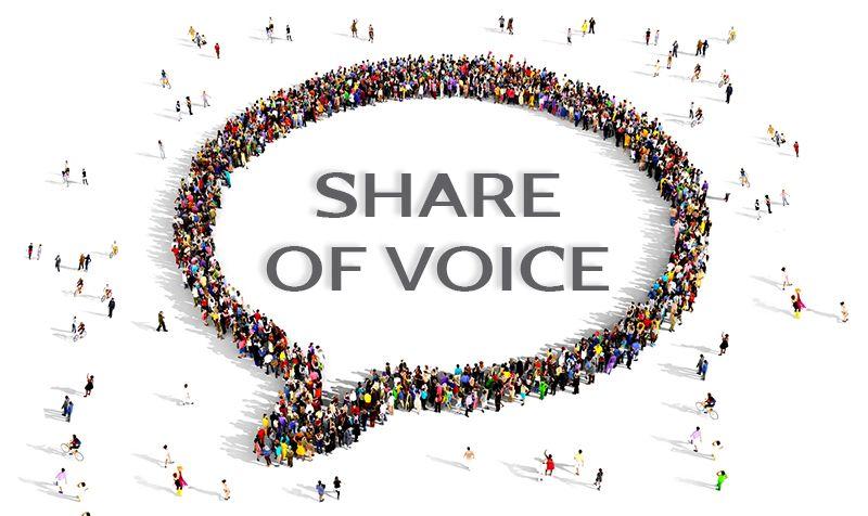 Cómo el share of voice mide la efectividad de las relaciones públicas