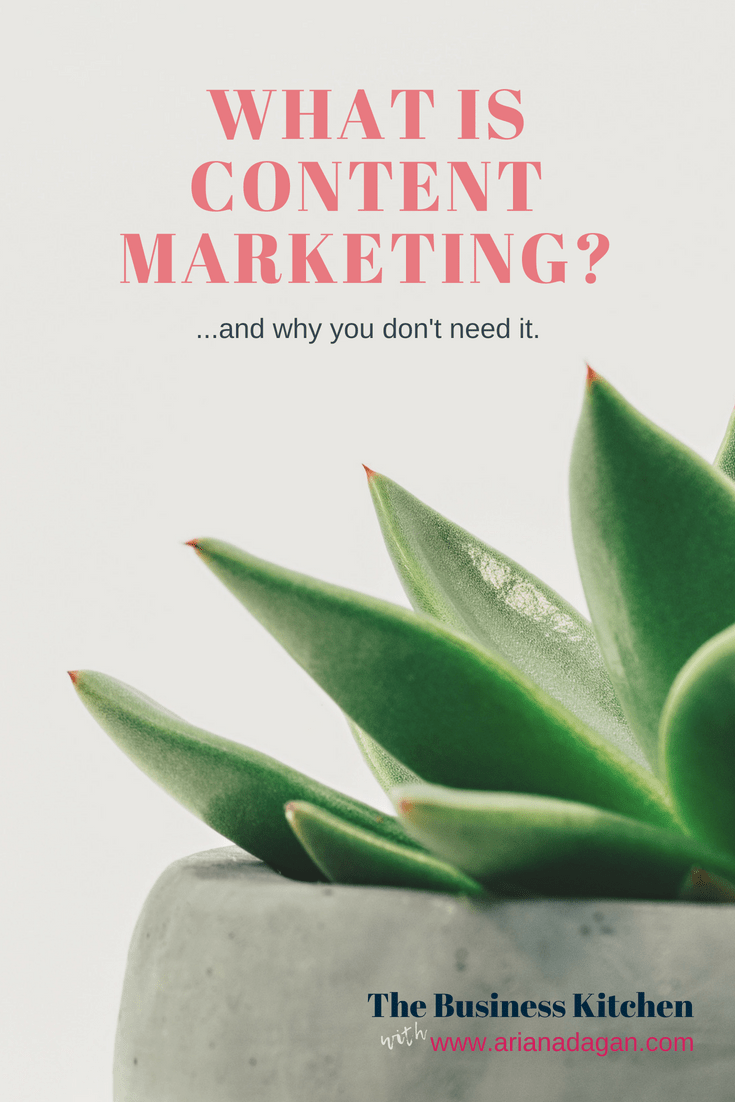 What is content marketing_