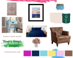 Mood Board Monday | Bedroom Fit for a King
