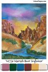 Mood Board Monday | Little Colorado River Confluence Color Palette