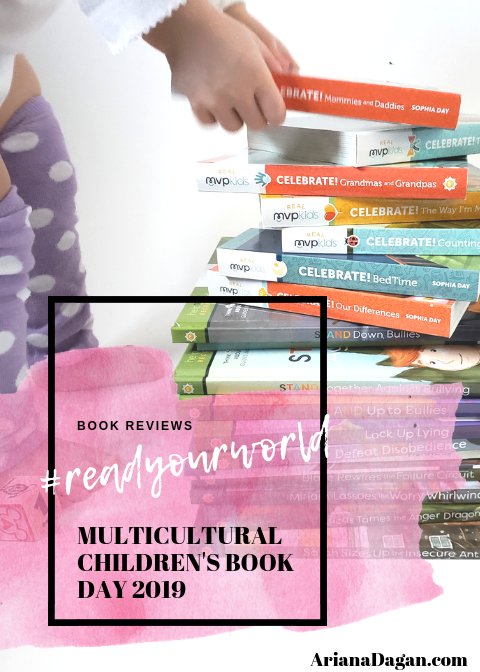 Help Me Become Book Series Review for Multicultural Children's Book Day 2019