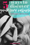 Discovering Your Personal Core Values, When to Reevaluate and How to Change Them