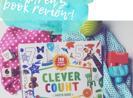 Clever Count Photo Book Children's Book Review by Ariana Dagan