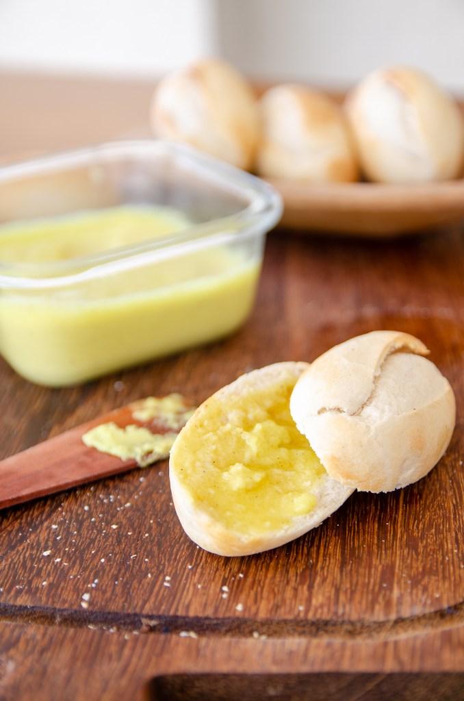 manteiga de coco caseira
