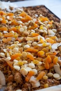 granola com damasco caseira