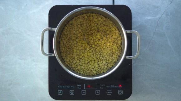 como cozinhar lentilha canadense