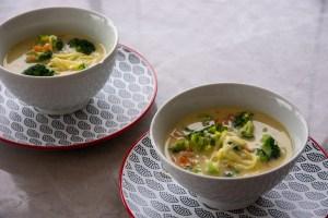 receita simples de sopa de brocolis com queijo