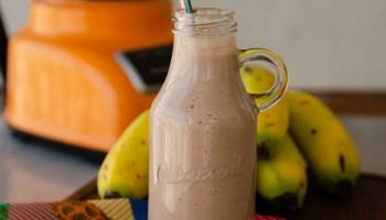 leite com chocolate super nutritivo