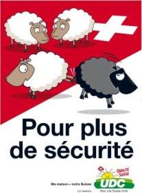 """Affiche UDC - campagne de votation sur le renvoi des """"étrangers criminels"""""""