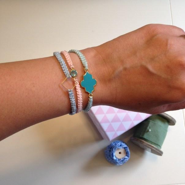 DIY Macramee Armband