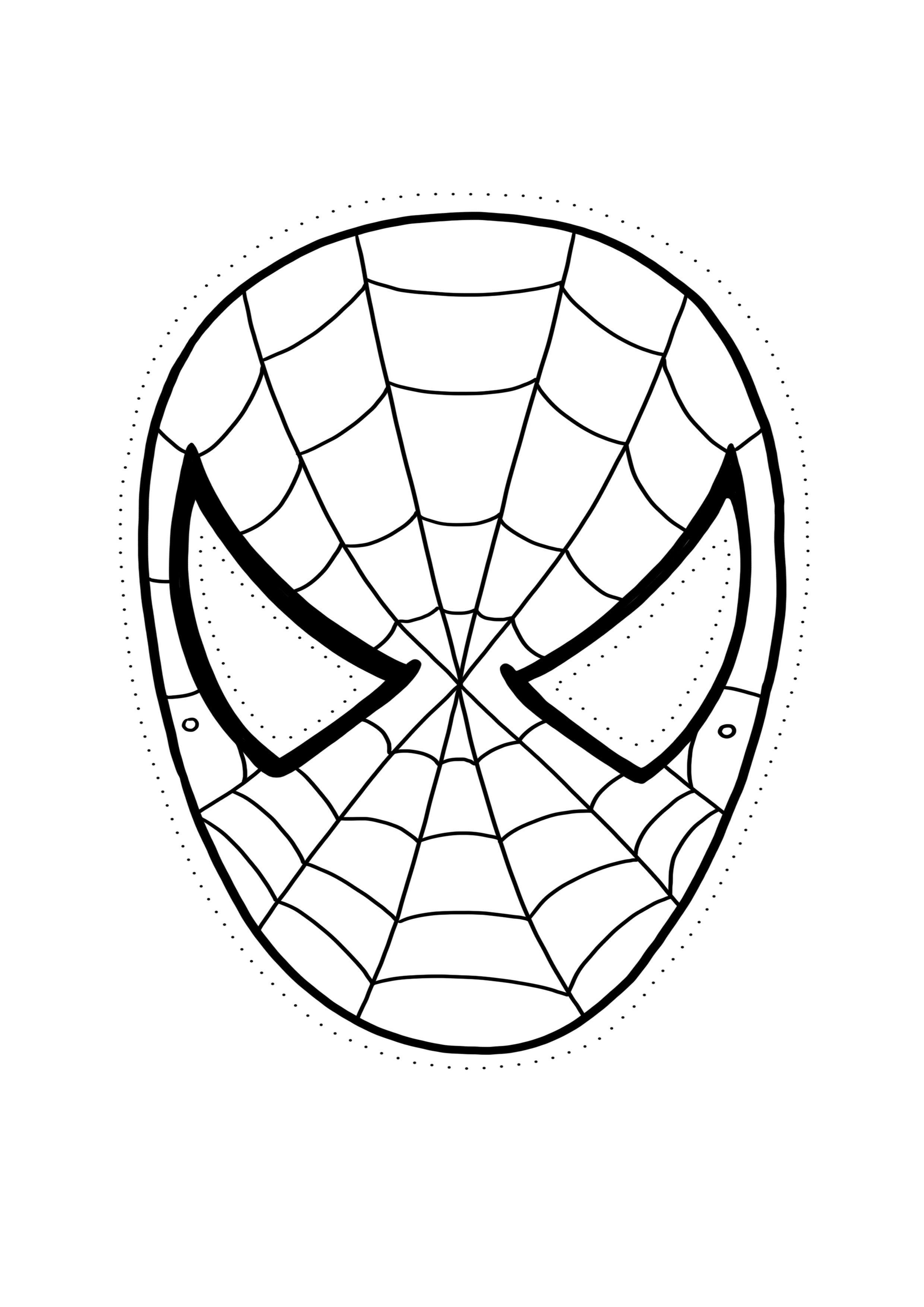 Mascaras De Superheroes Para Imprimir