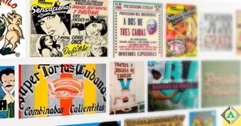 Rótulos como parte de la cultura mexicana