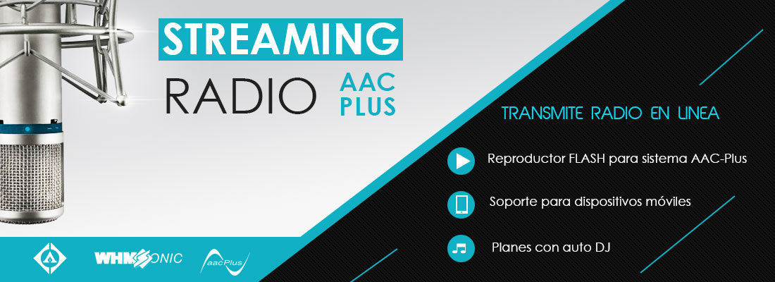 Servicio de streaming radio México Ariapsa