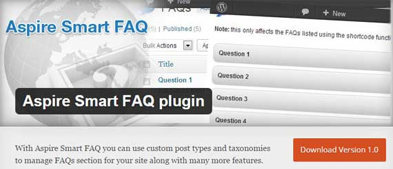 Aspire-Smart-FAQ-plugin